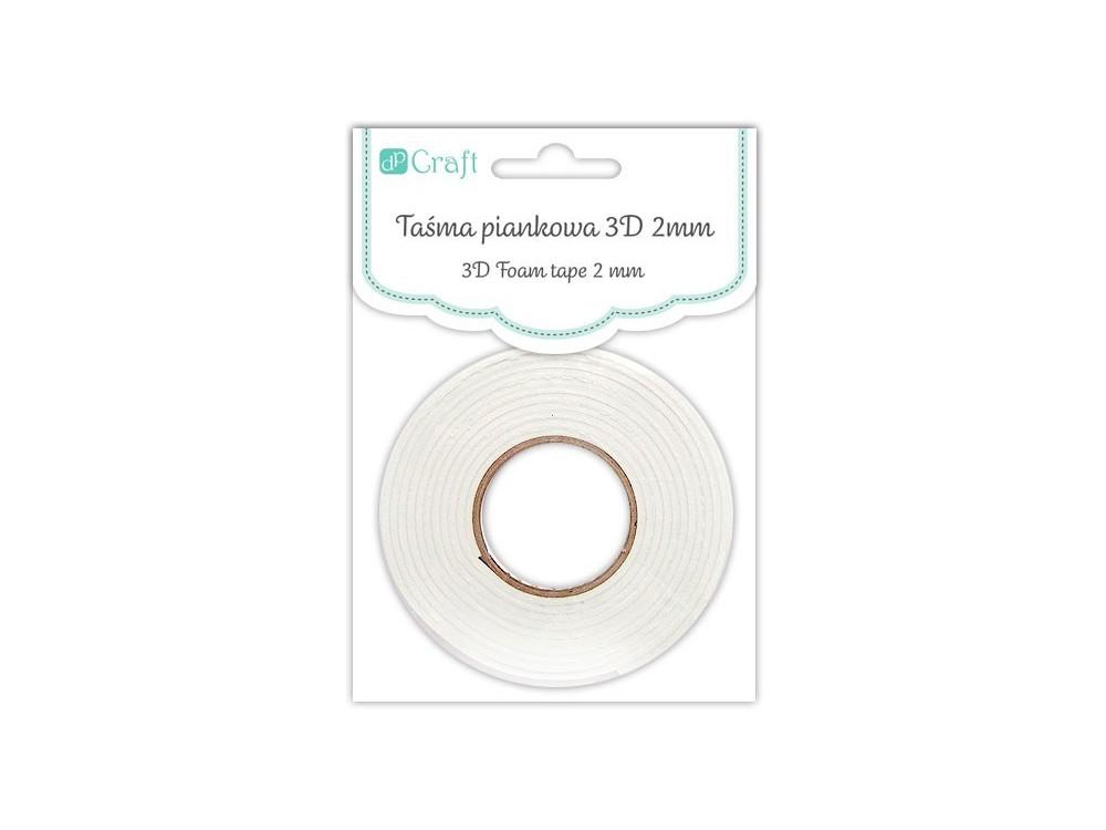 3D Foam Tape - DpCraft - self-adhesive, 0,5 cm x 2,2 m