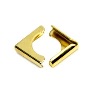 Narożniki do albumów Srapbookingowych 15 mm złote