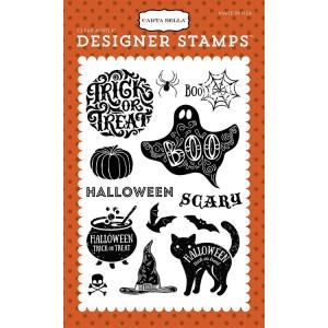Stemple Carta Bella - Haunted - Halloween Haunts