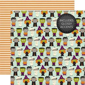 Papier Echo Park - Halloween - Little Monsters