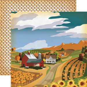 Papier Carta Bella - Autumn - Harvest Season