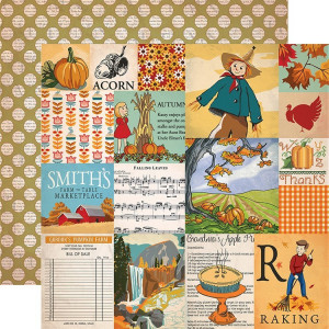 Papier Carta Bella - Autumn - Journaling Cards