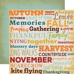 Papier Carta Bella - Autumn - Family Gathering