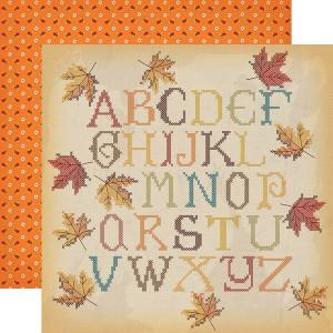 Papier Carta Bella - Autumn - Fall Stitching