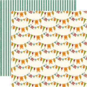 Paper Echo Park - Fall is in the Air - Autumn Bunting