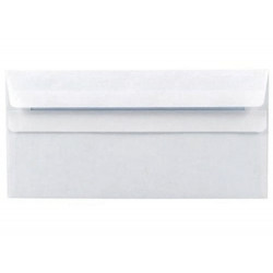 Envelope DL 80g white SK 1000/pkg