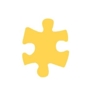 Dziurkacz ozdobny 3,7 cm 308 - Puzzle