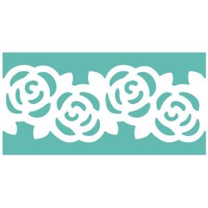 Dziurkacz brzegowy wielofunkcyjny 5 cm Roża