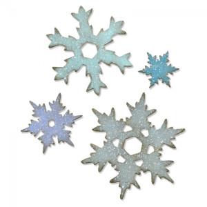 Wykrojnik Sizzix Bigz L - Stacked Snowflakes