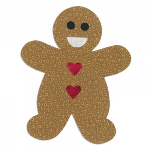 Sizzix Bigz Die L - Gingerbread Man