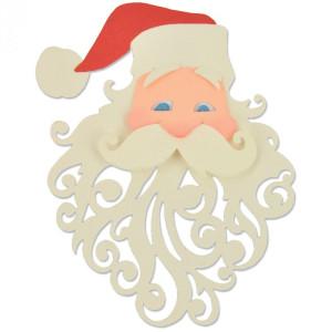 Wykrojniki Sizzix - Thinlits - Santa, 3 szt.