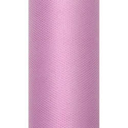 Decorative Tulle 15 cm x 9 m 081P Powder Pink