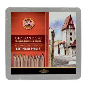 Zestaw pasteli Giaconda - Koh-I-Noor, 48 szt.