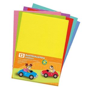Zestaw kartonów falistych A4 - Koh-I-Noor, 12 szt.