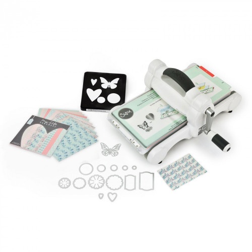 how to use sizzix big shot die cutting machine