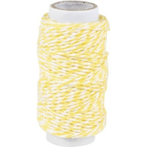 Bakers Twine 20m Yellow