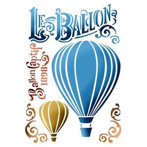 Szablon A4 Stamperia - Balon