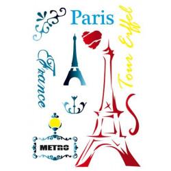 Stamperia Stencil A4 - Paris