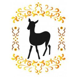 Szablon 15 x 20 cm - Stamperia - Sarenka