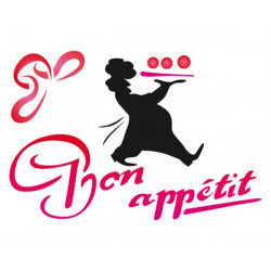 Szablon 15 x 20 cm - Stamperia - Bon Apetit