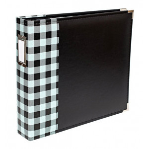 Album Buffalo Check 30 x 30 cm - We R Memory Keepers - Mint