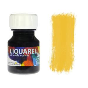 Akwarele w plynie Liquarel 30ml - żółty ciemny