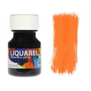 Akwarele w plynie Liquarel 30ml - Orange
