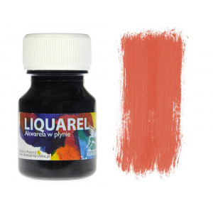 Akwarele w plynie Liquarel 30ml - Cynober