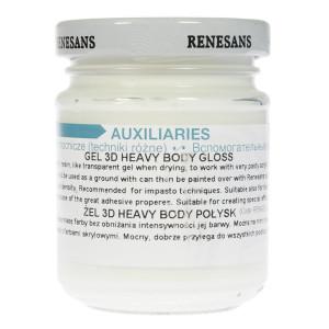 Gel 3D Heavy Body - Gloss