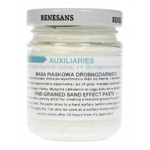 Renesans fine-grained sand effect paste 125 ml