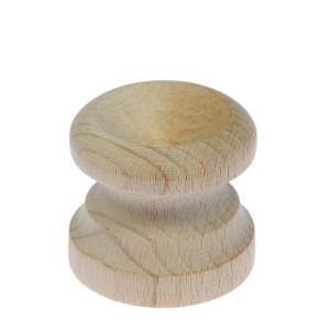 Drewniana podstawka pod jajko - płaska