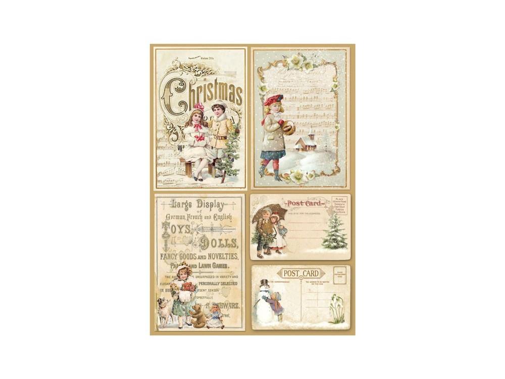 A//4 Classic Decoupage Paper Scrapbook Sheet Vintage Children