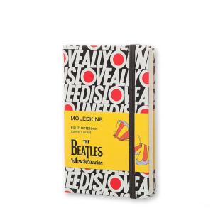 Notatnik Moleskine The Beatles Ruled White Large
