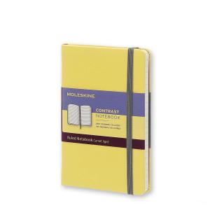 Notatnik Moleskine Contrast - Yellow - Pocket