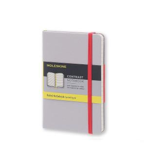 Notatnik Moleskine Contrast - Gray - Pocket