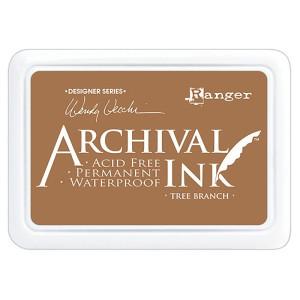 Archival Ink Pad - Poduszka z tuszem wodoodpornym - Ranger - Tree Branch