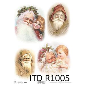 Papier ryżowy decoupage ITD R1005