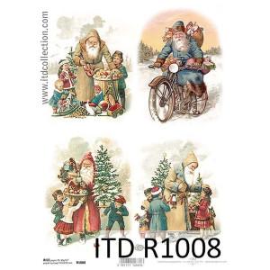 Papier ryżowy decoupage ITD R1008