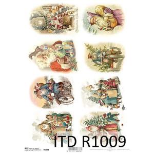 Papier ryżowy decoupage ITD R1009