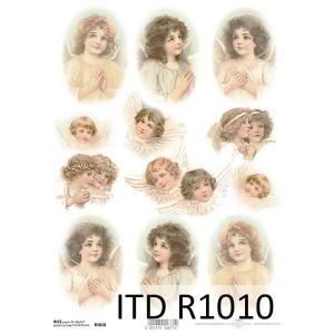 Papier ryżowy decoupage ITD R1010