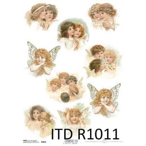 Papier ryżowy decoupage ITD R1011
