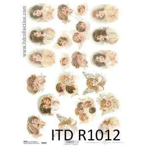 Papier ryżowy decoupage ITD R1012