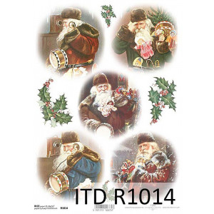 Papier ryżowy decoupage ITD R1014