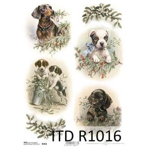 Papier ryżowy decoupage ITD R1016