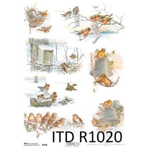 Papier ryżowy decoupage ITD R1020