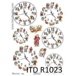 Papier ryżowy decoupage ITD R1023