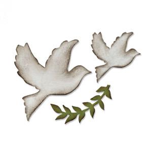 Wykrojnik Sizzix Bigz - Enchanted Doves
