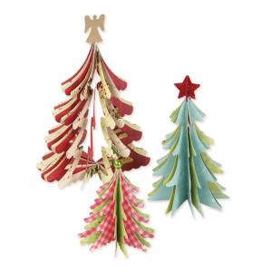 Sizzix Bigz Die - Christmas Trees 3D