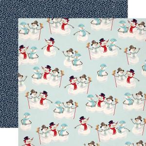 Papier Carta Bella - Snow Fun - Sweet Snowmen