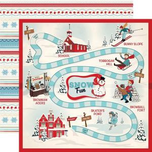 Papier Carta Bella - Snow Fun - Snow Fun Day